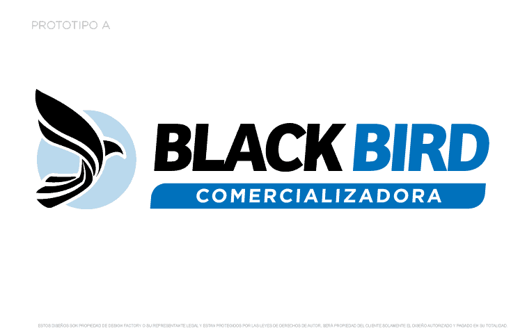 Logotipo Black Bird A