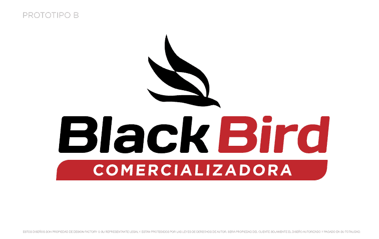 Logotipo Black Bird B