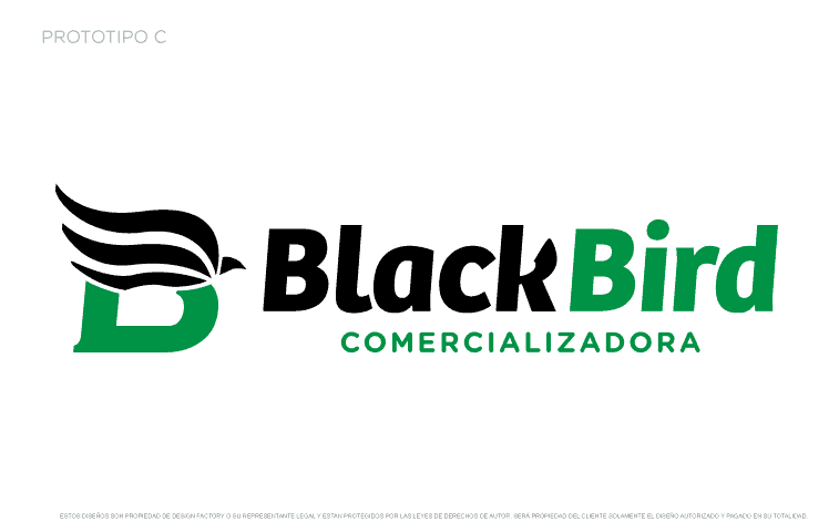 Logotipo Black Bird C