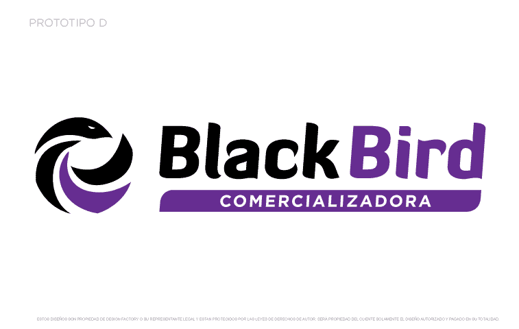 Logotipo Black Bird D