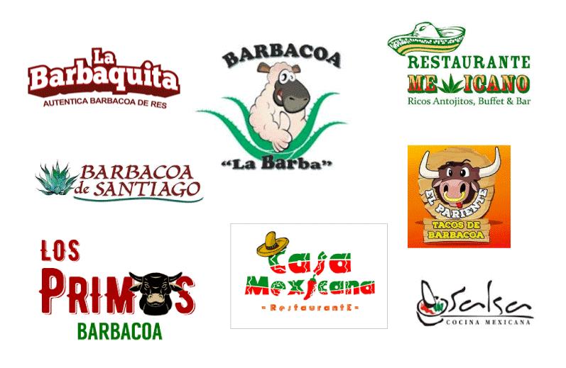 logos comida mexicana