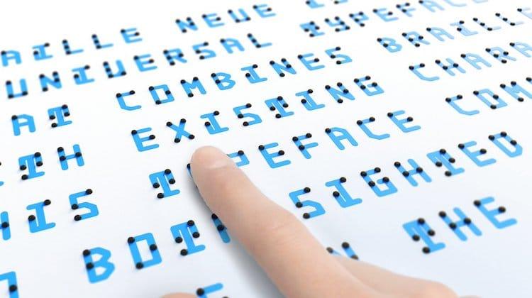 Braile con Tipografía