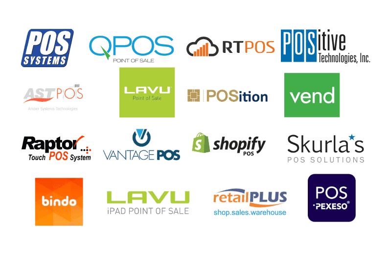 logotipos de punto de venta
