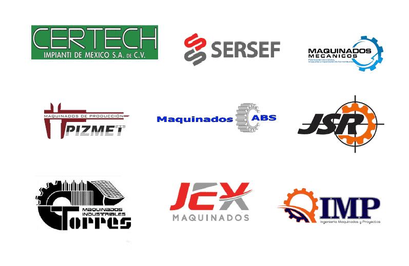logos de maquinados
