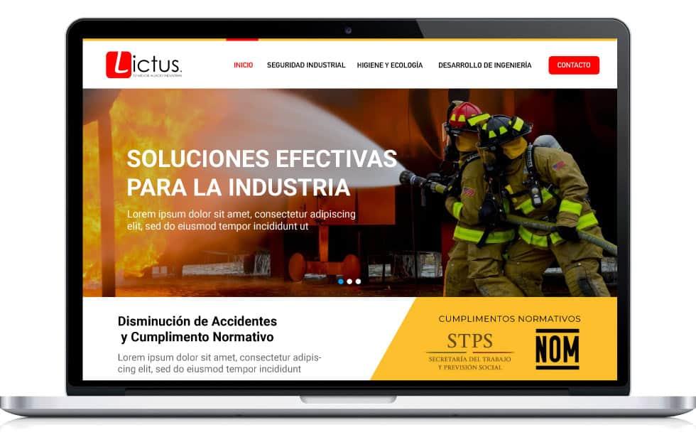 diseño web para industria A1