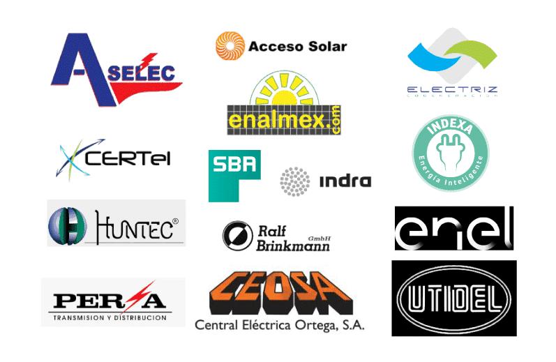 Logos de empresas energia