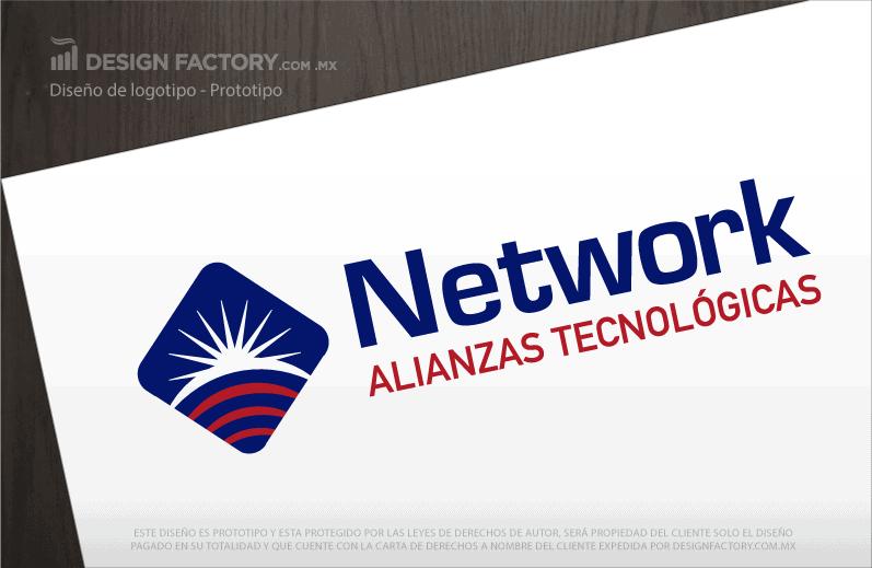 Logo para Tecnologías de Información y Telecomunicaciones 03.