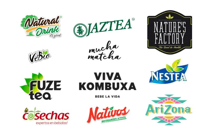 Logotipos para bebida saludable