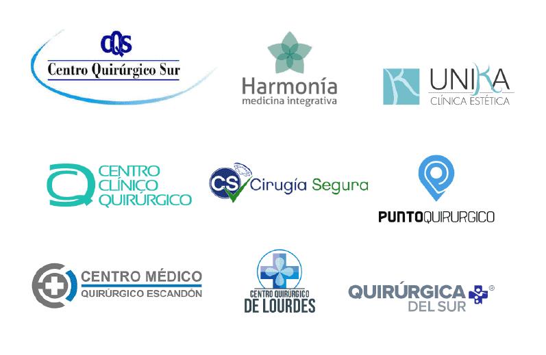 logotipos del sector quirúrgico