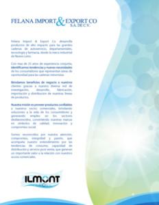 Diseño de Catálogo Ilmont A2