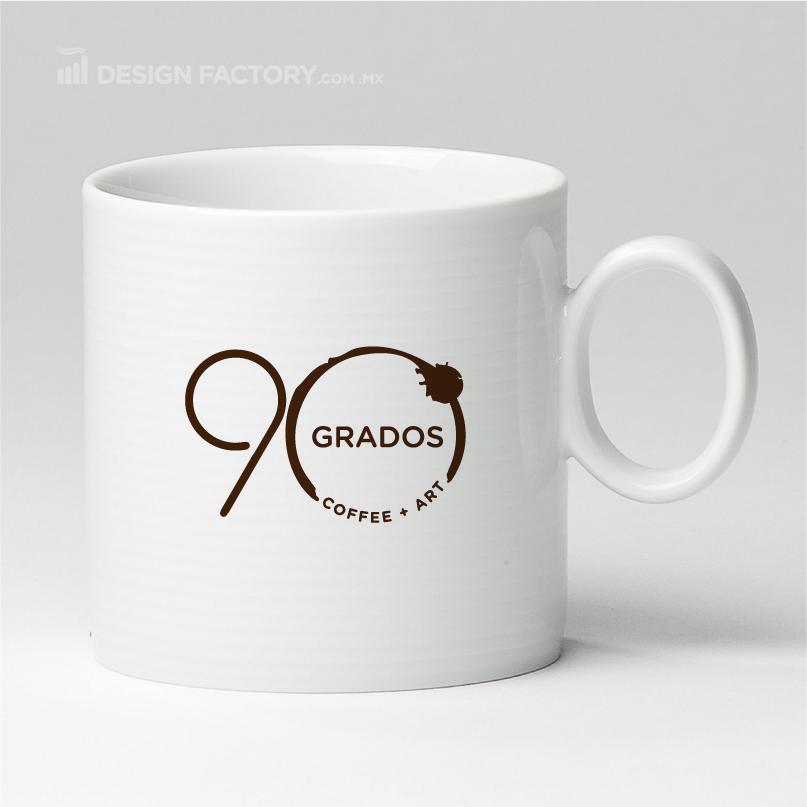 Logotipo Café 90 Grados - A