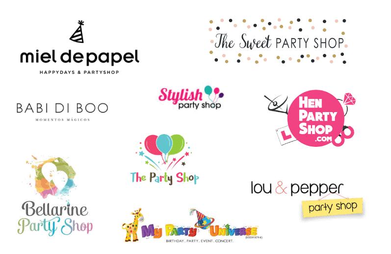 Logotipos para Fiestas