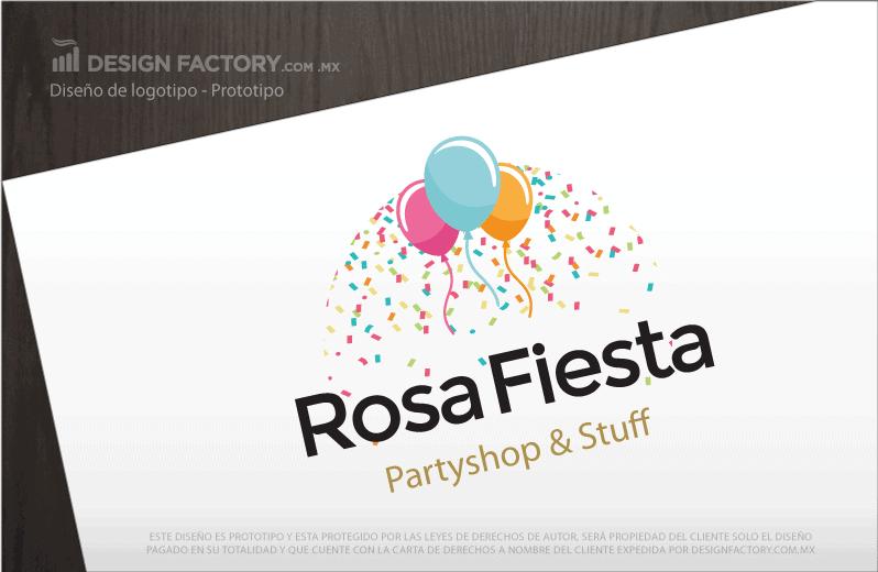 Logotipo para Fiestas 01