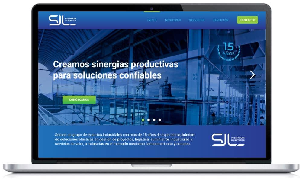 Diseño Web para Servicios Industriales 01A