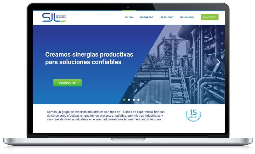 Diseño Web para Servicios Industriales 02A