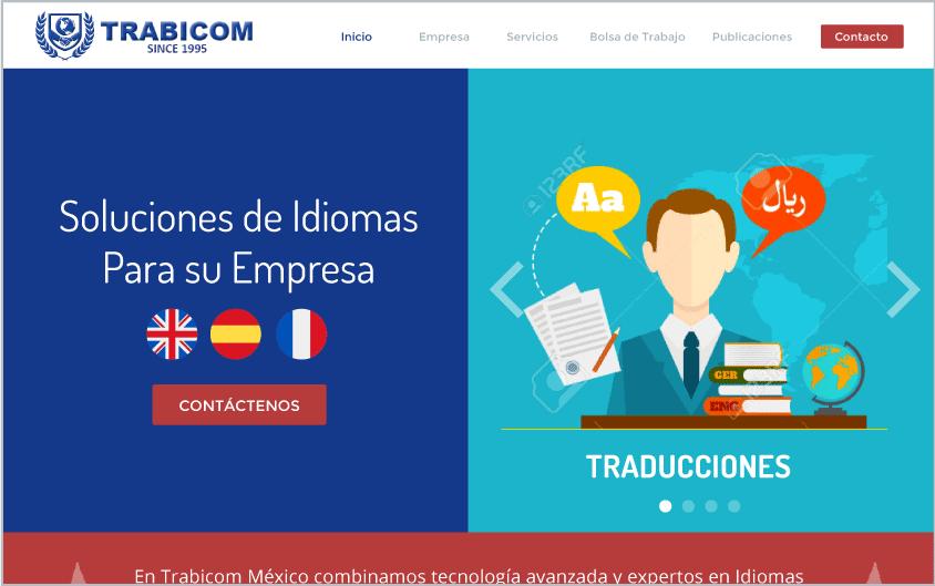 Diseño de Website para Idiomas B1