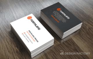 Diseño de tarjeta de presentación Northland A