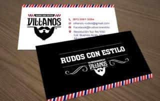 Logo y Tarjeta Villanos