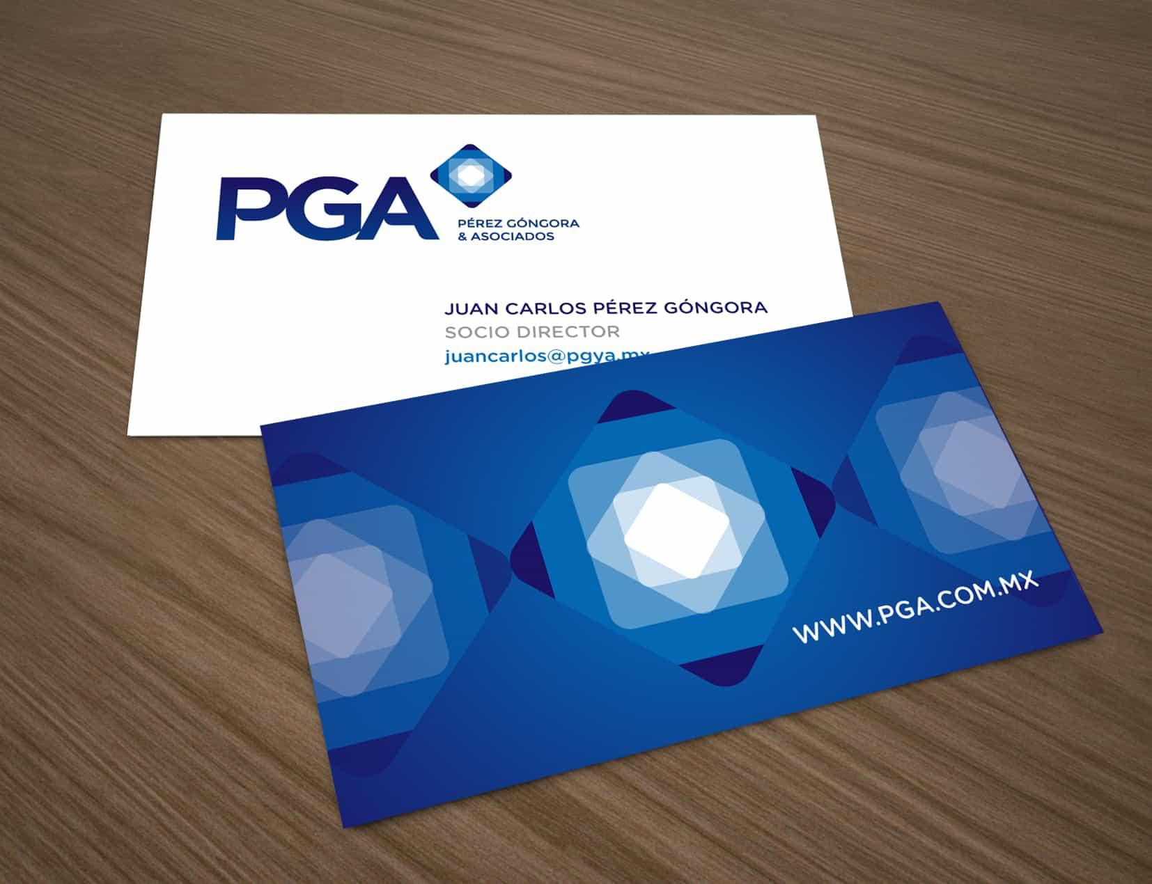 Identidad Corporativa PGA