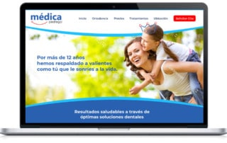 Diseño Web Dentista - Prototipo A1