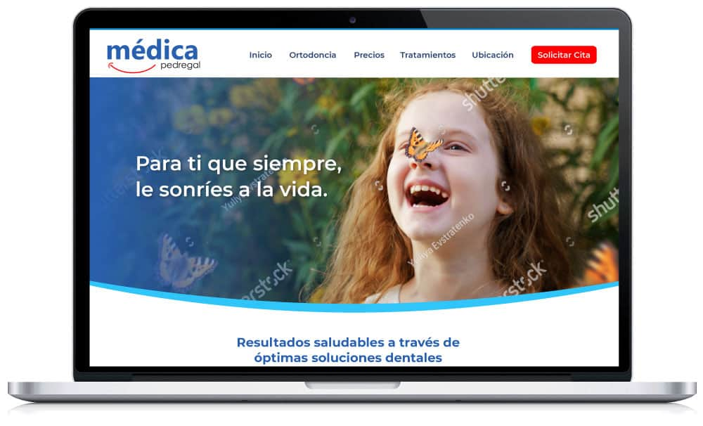 Diseño Web Dentista - Prototipo B2