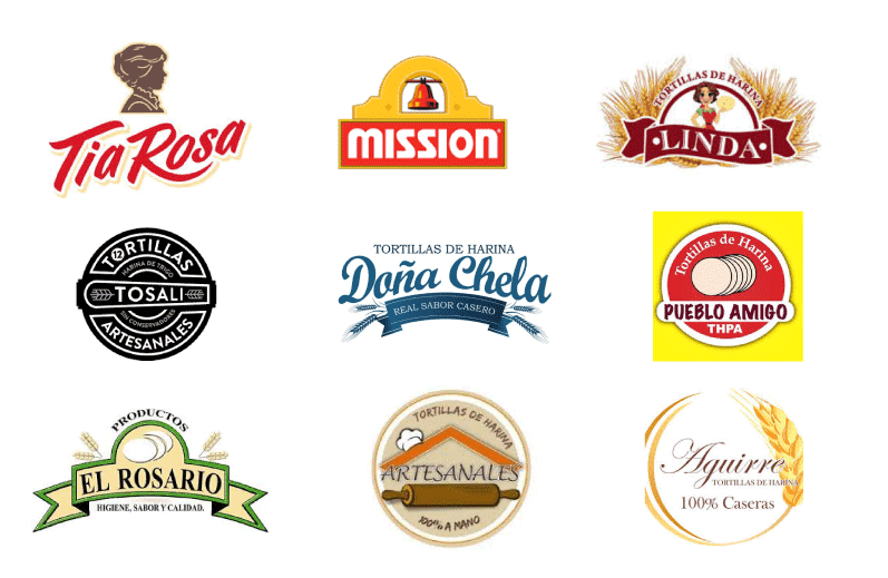 logos Tortillas de Harina