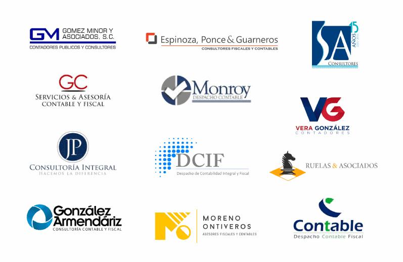 logos de contadores fiscales